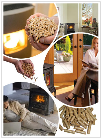 home heating pellets made by small pellet mill