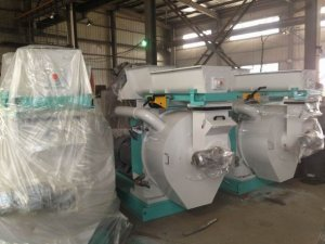 2T/H Ring Die Wood Pellet Mill Exported to Vie