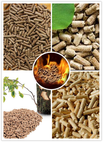 wood pellets for burning in wood pellet burner