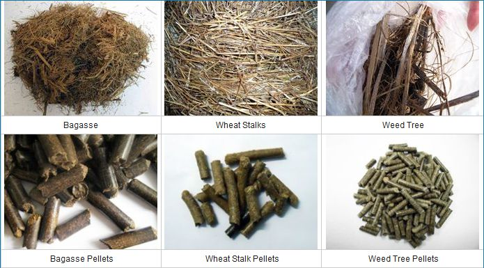 wood pellets raw material