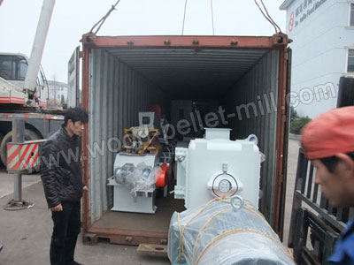 wood pellet machinery