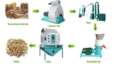 Biomass pelletizing