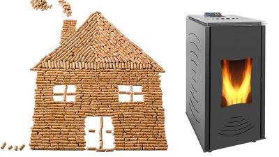 wood pellet home heating