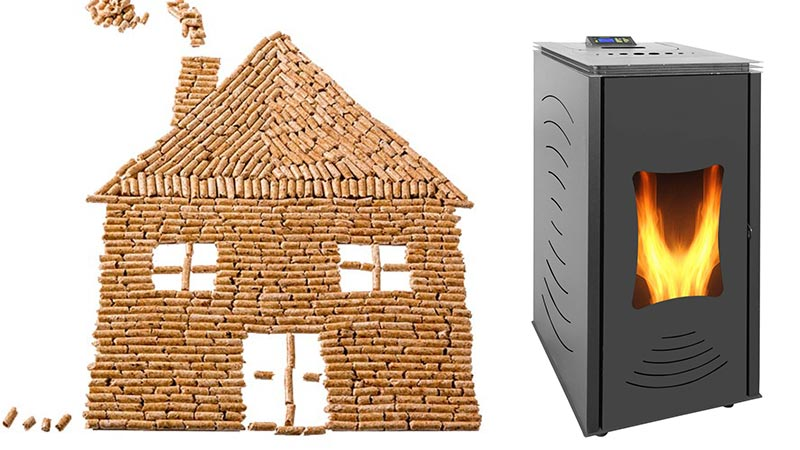 wood pellet home heating