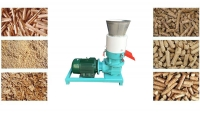 wood pellet mill blocking