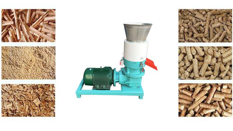 wood pellet mill blocking