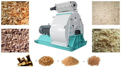 wood pellet hammer mill