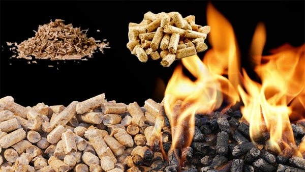 heating with wood pellets