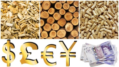 uk wood pellet value