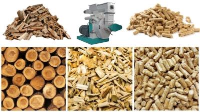 wood biomass pellet