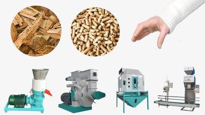 wood pellet manufacture
