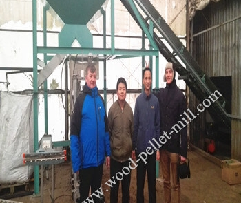 wood pellet mill customers
