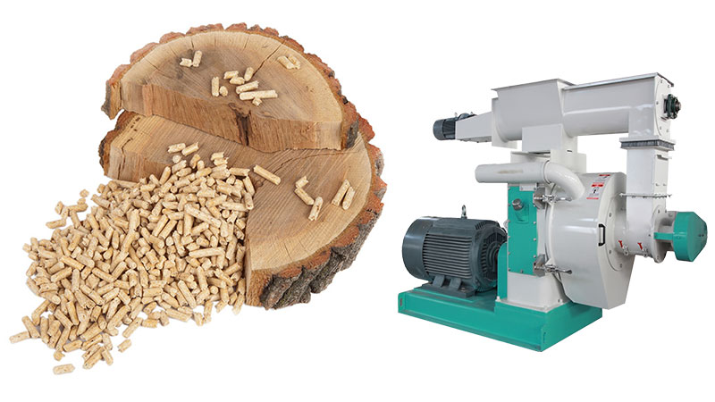 wood pellet mill operation