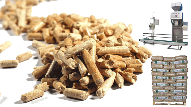 wood pellet packing solution
