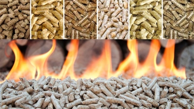 wood pellets heating